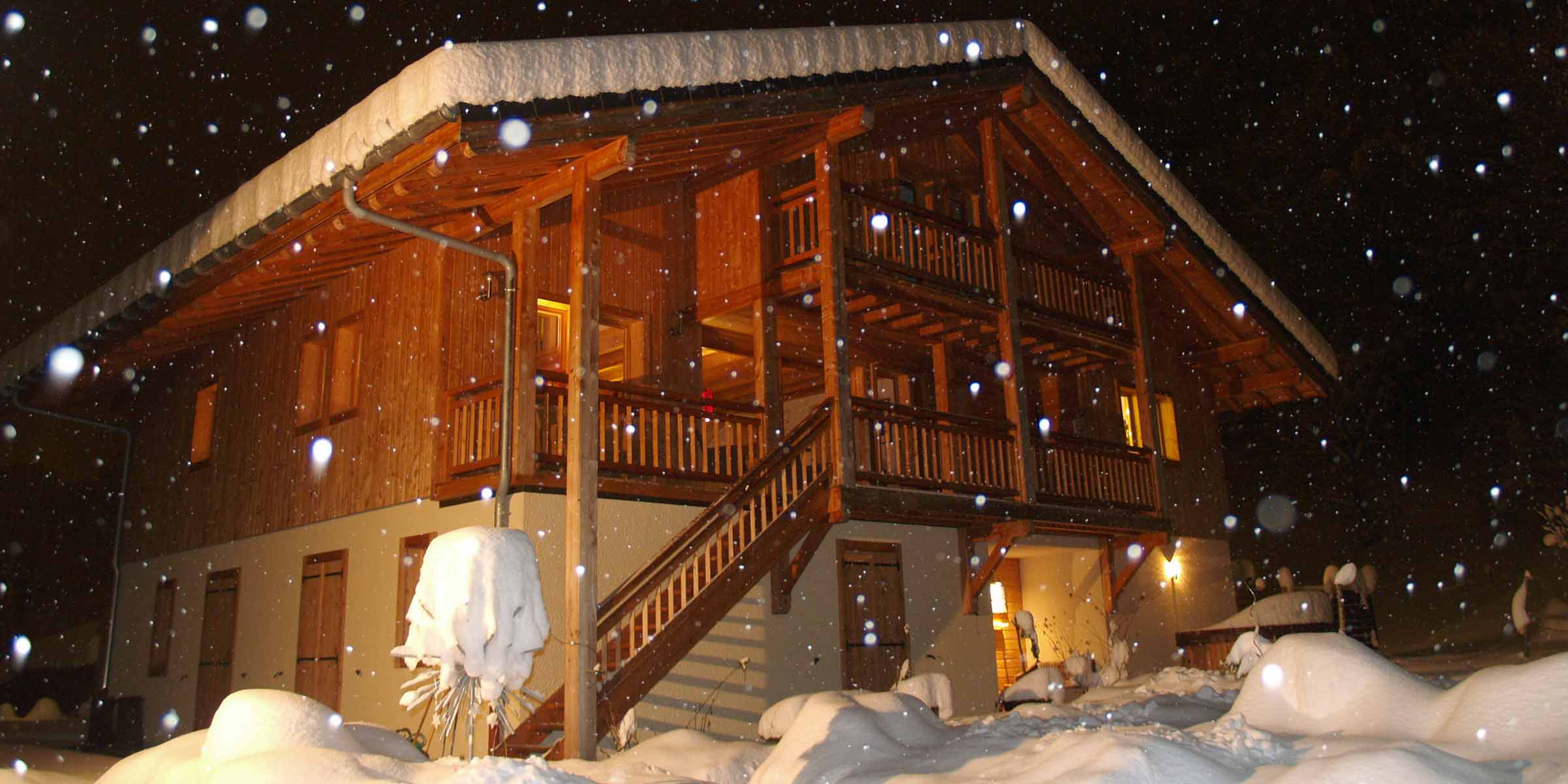 Chalet Brio in Winter 2