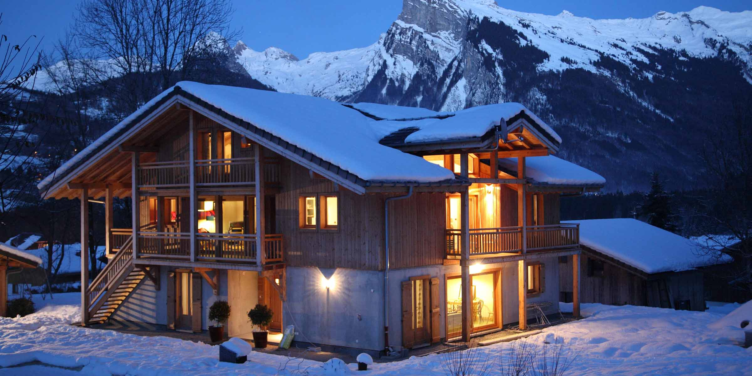Chalet Brio in Winter