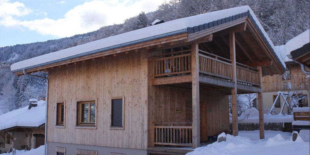 Chalet Bravo in winter
